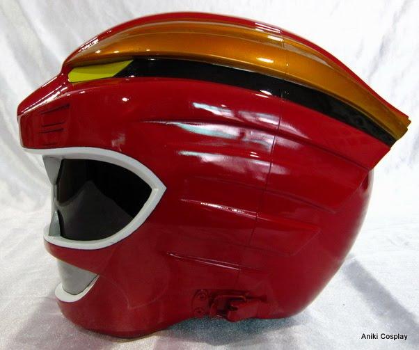 Red Turbo Ranger Helmet Wild Force | Aniki Cos...