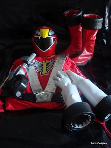 Power rangers turbo cosplay